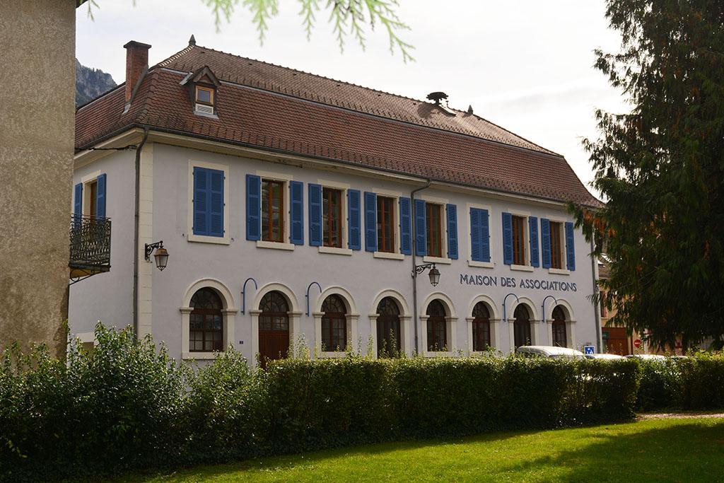 Maison des Associations à St Laurent du Pont, lieu de répétition de Chartreuse en Choeurs.